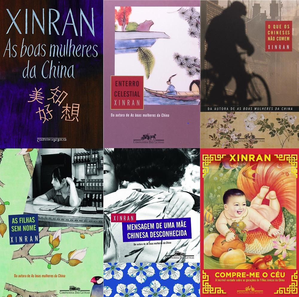 Livros de Xinran