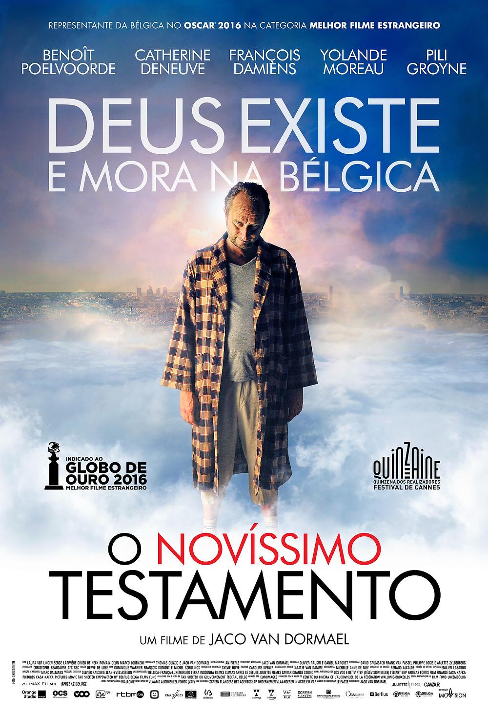 """""""O Novíssimo Testamento"""" (Le Tout Nouveau Testament: 2014)"""