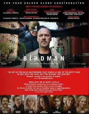 Filmes: Birdman ou (A Inesperada Virtude da Ignorância) - As maluquices de Iñárritu