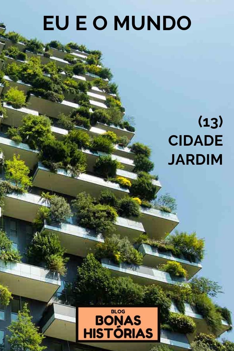 Crônica Cidade Jardim de Ricardo Bonacorci