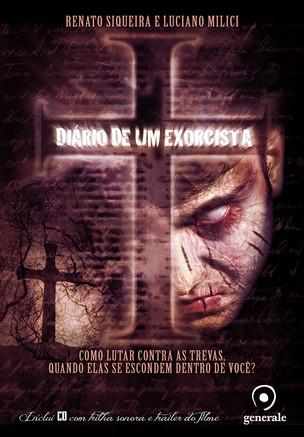 Livros: Diário de um Exorcista - Terror nacional por Renato Siqueira e Luciano Milici