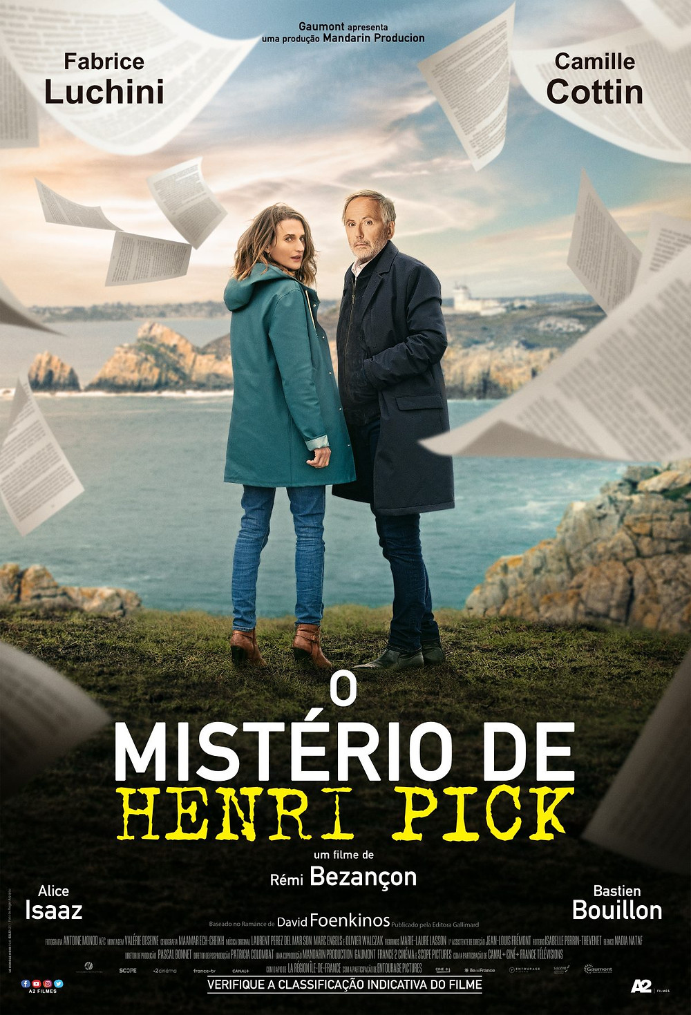 O Mistério de Henri Pick (Le Mystère Henri Pick: 2019) de Rémi Bezançon