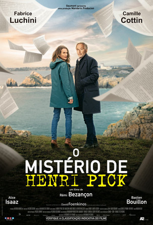 Filmes: O Mistério de Henri Pick - O thriller cômico de Rémi Bezançon