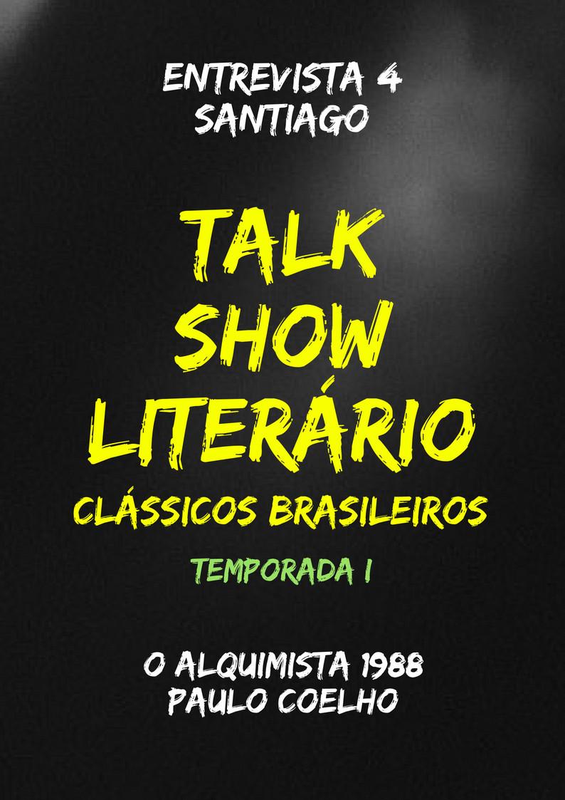 Talk Show Literário Santiago