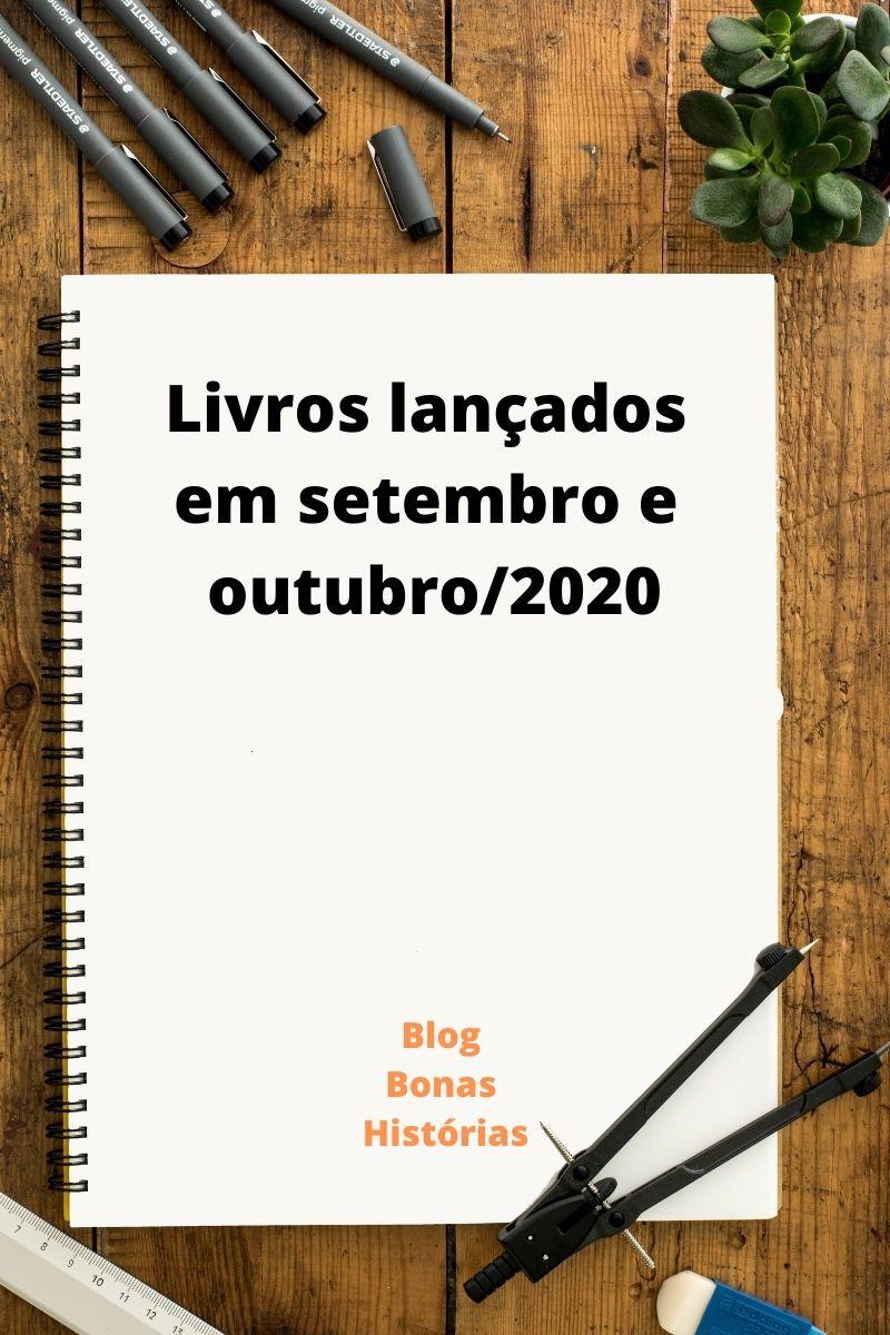 Livros lançados em setembro e outubro de 2020 no Brasil