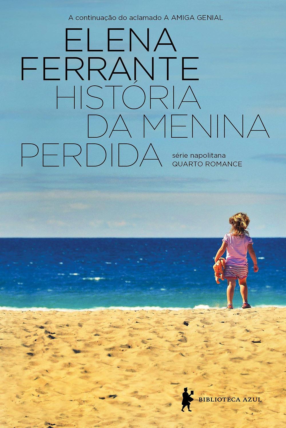 Livro História da Menina Perdida de Elena Ferrante