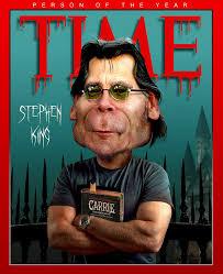 Capa da Revista Times com  Stephen King