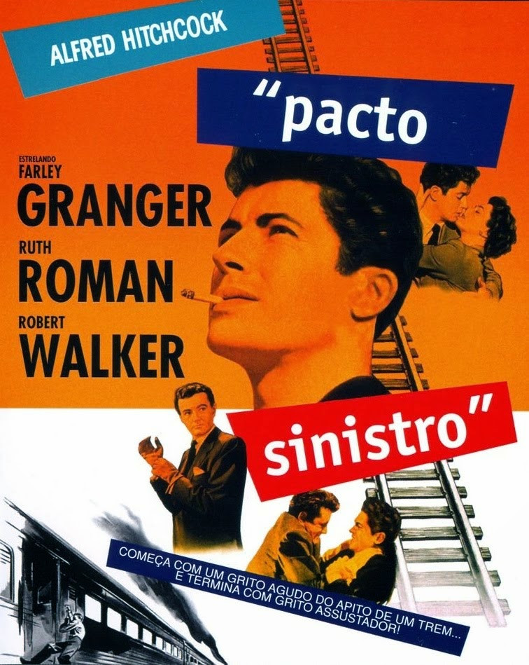 Pacto Sinistro (Strangers on a Train: 1951)