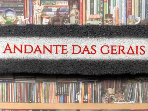Livros: Andante das Gerais - As crônicas de viagem de Roberto Marcio