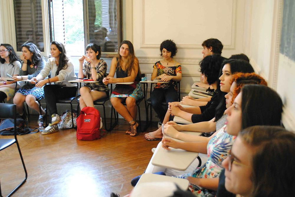 Curso do Centro de Apoio ao Escritor na Casa das Rosas