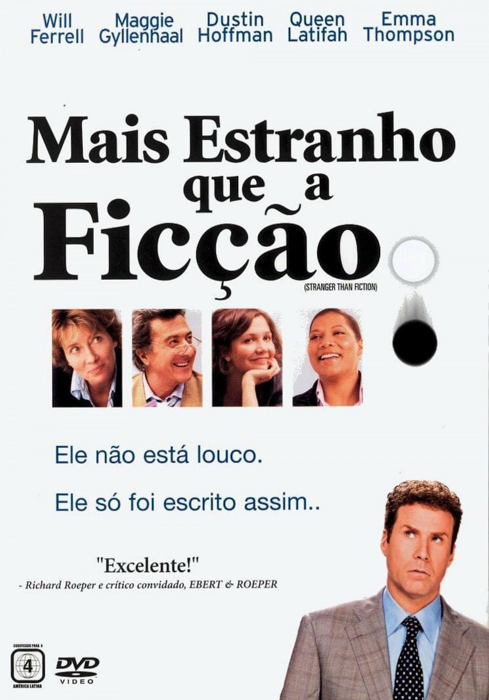 Filme Mais Estranho que a Ficção (Stranger Than Fiction: 2006)