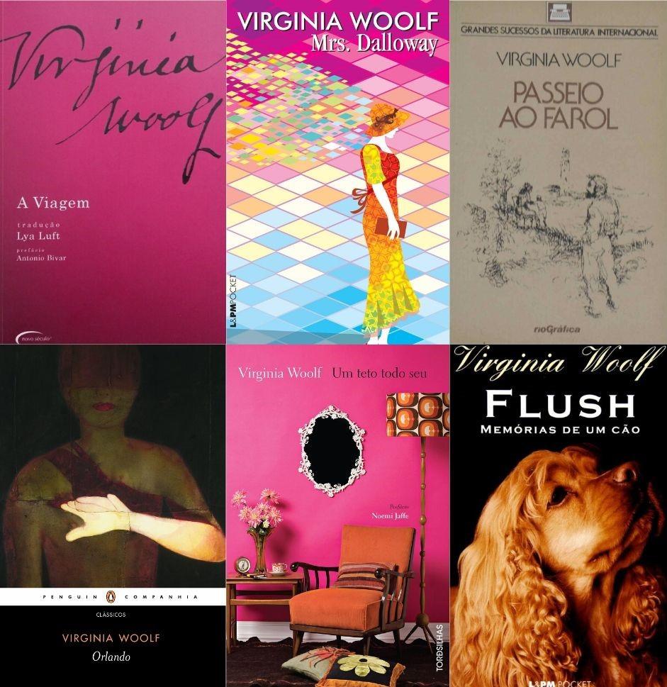 Livros de Virginia Woolf