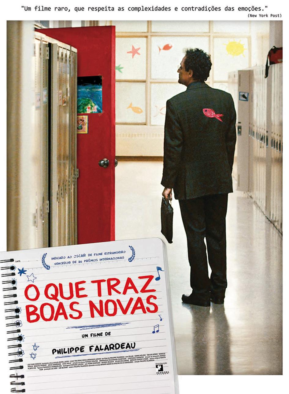 O Que Traz Boas Novas (Monsieur Lazhar: 2011)