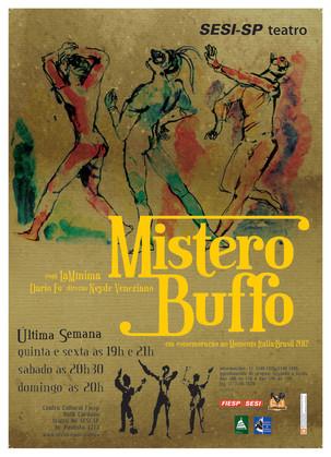 Peças Teatrais: Mistero Buffo - A divertida comédia circense