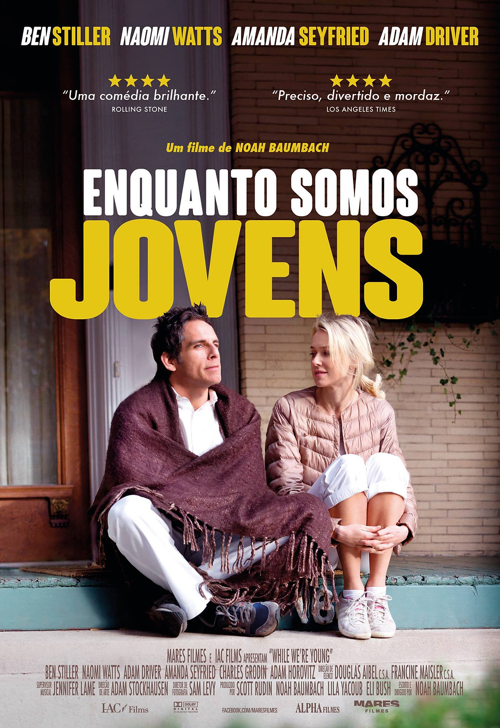 Enquanto Somos Jovens (While We're Young: 2014)