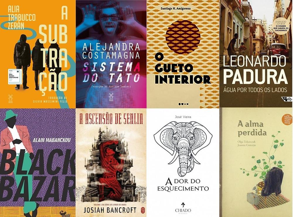 Livros lançados em setembro e outubro de 2020 na literatura internacional