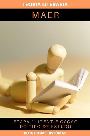 Teoria Literária - MAER - Etapa 1 - Identificação do Tipo de Estudo