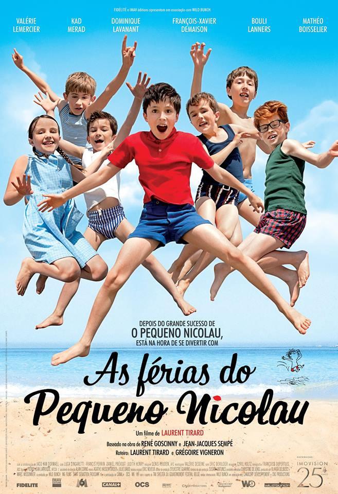 As Férias do Pequeno Nicolau (Les Vacances du Petit Nicolas: 2014)