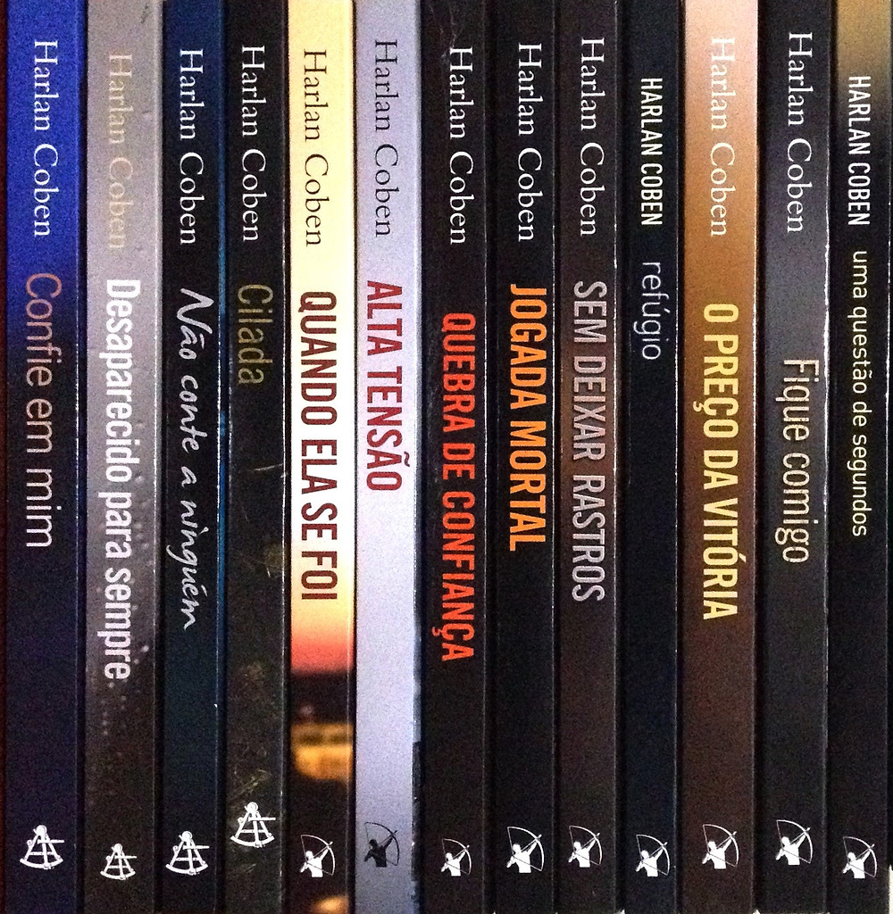 Livros de Harlan Coben