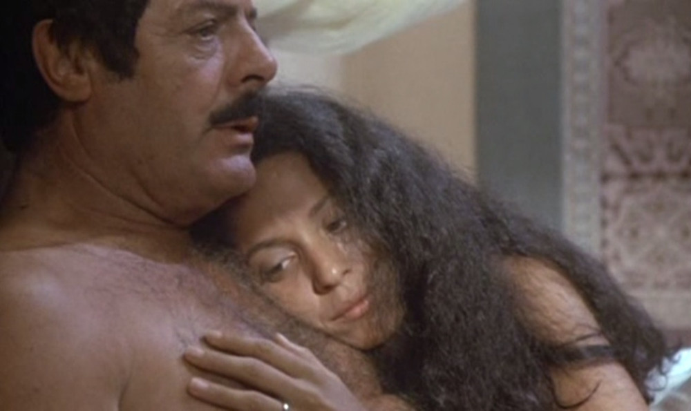 "Sônia Braga e Marcello Mastroianni em ""Gabriela"" (1983)"