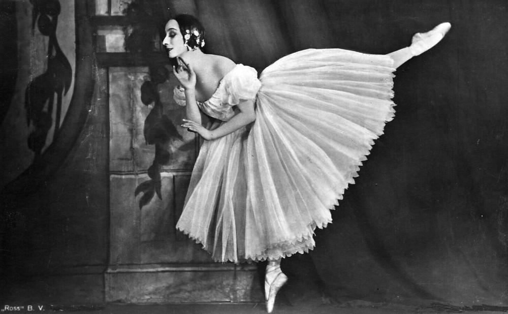 Anna Pavlova – Dançarinas Históricas