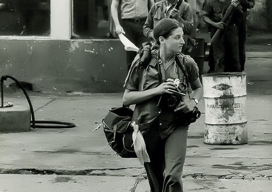Susan Meiselas, fotógrafa norte-americana da agência Magnum