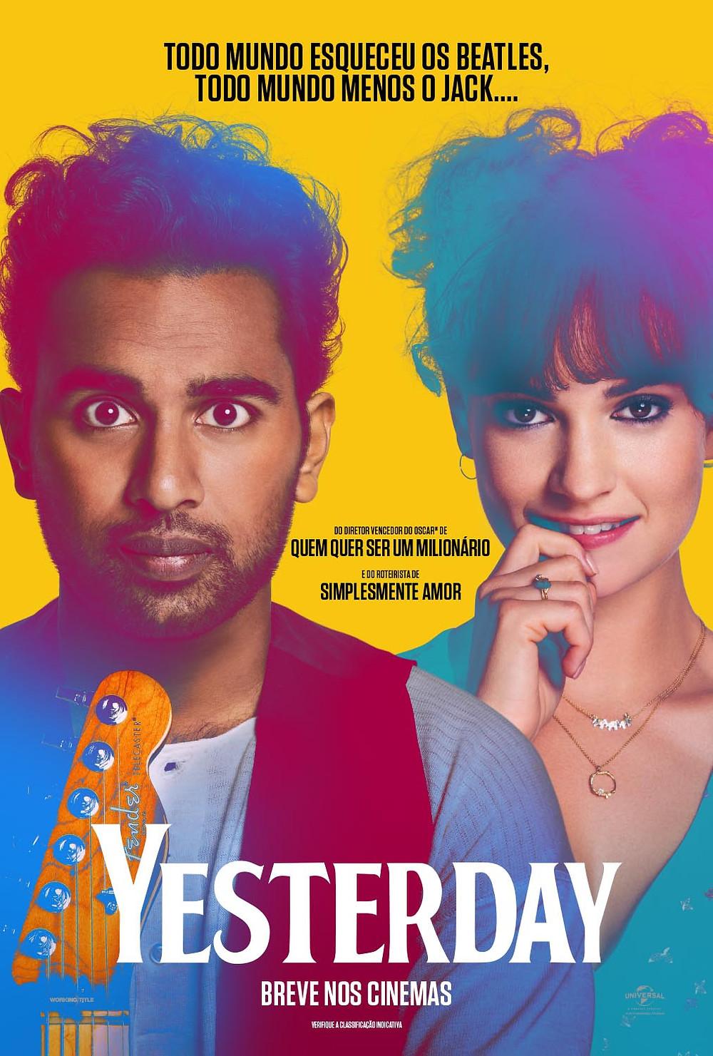 Filme Yesterday (2019)