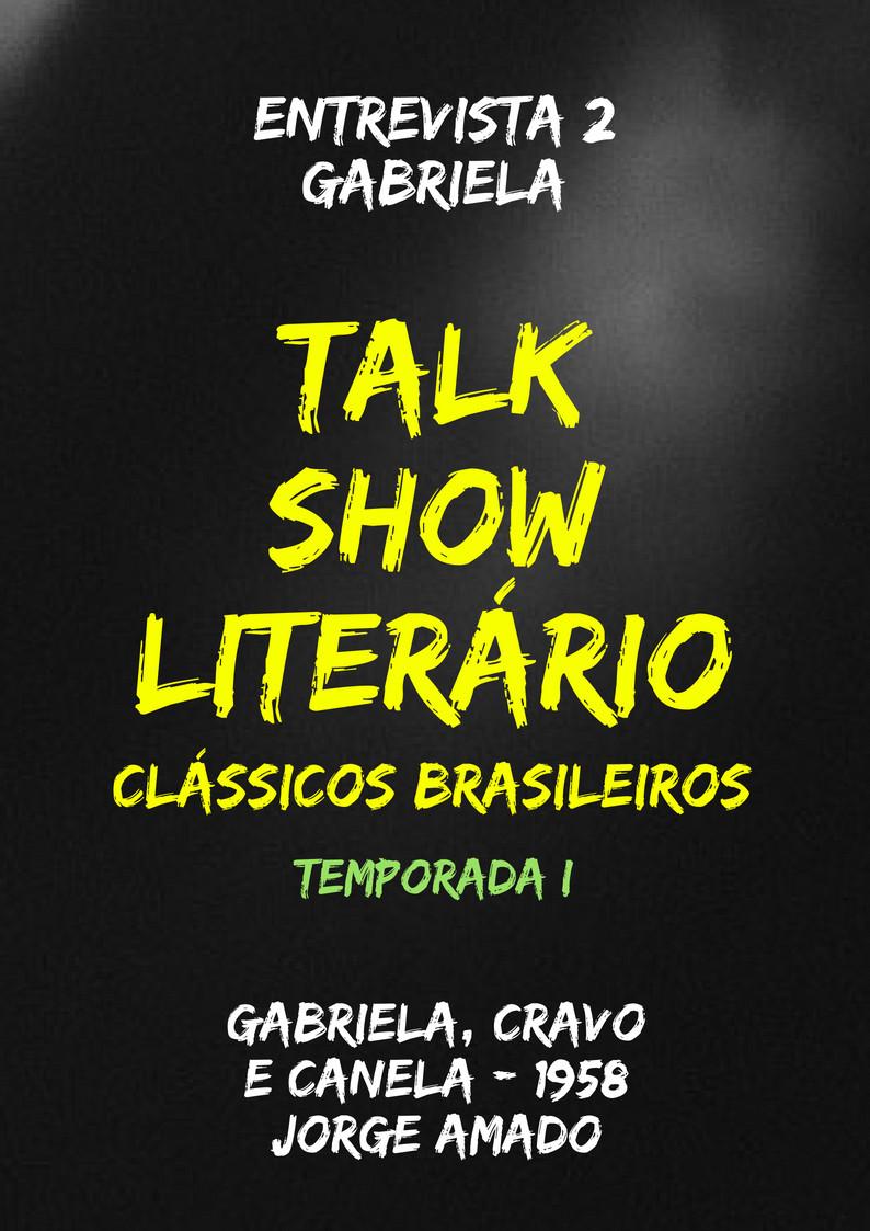 Talk Show Literário Gabriela