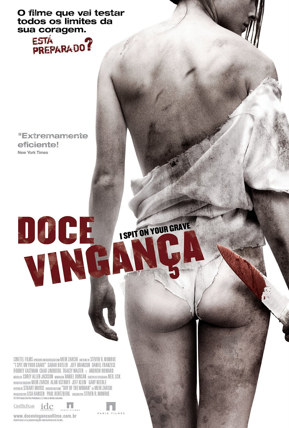 Doce Vingança (I Spit on Your Grave: 2010)