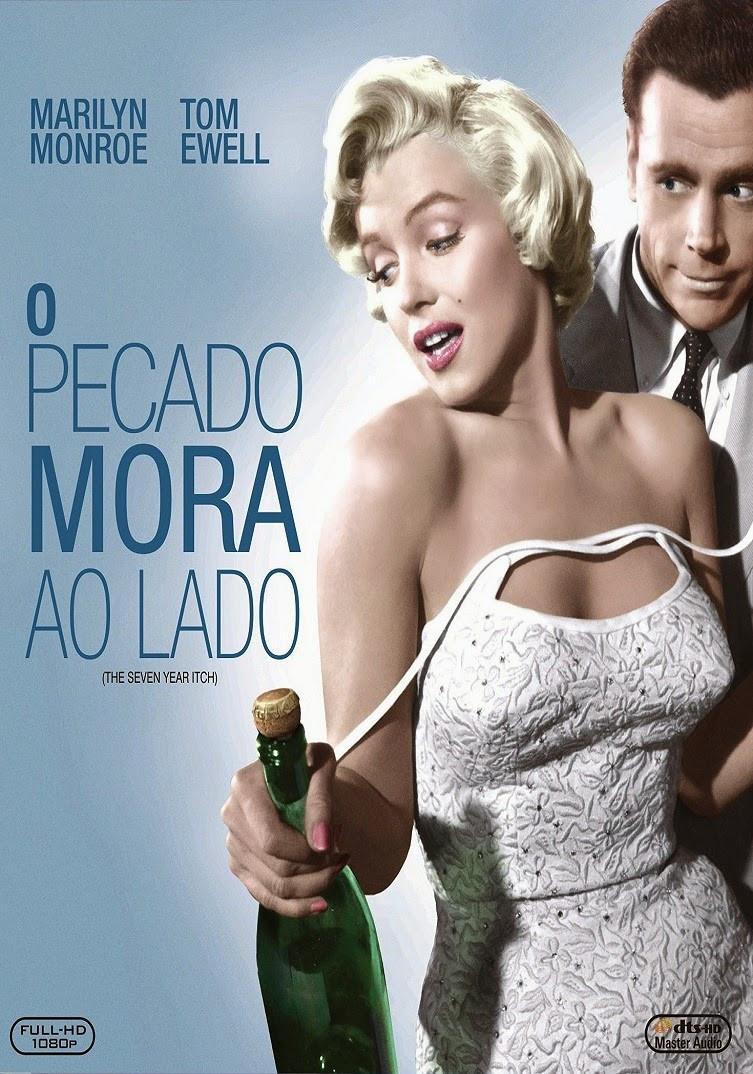 O Pecado Mora ao Lado (The Seven Year Itch: 1955)