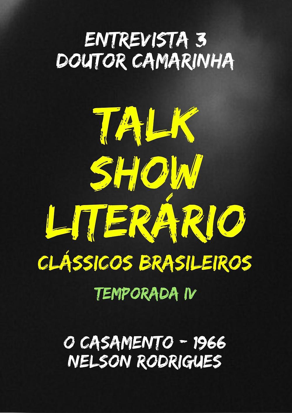 Talk Show Literário Virgínia