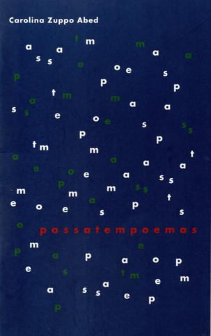 Livros: Passatempoemas - A poesia brincante de Carolina Zuppo Abed