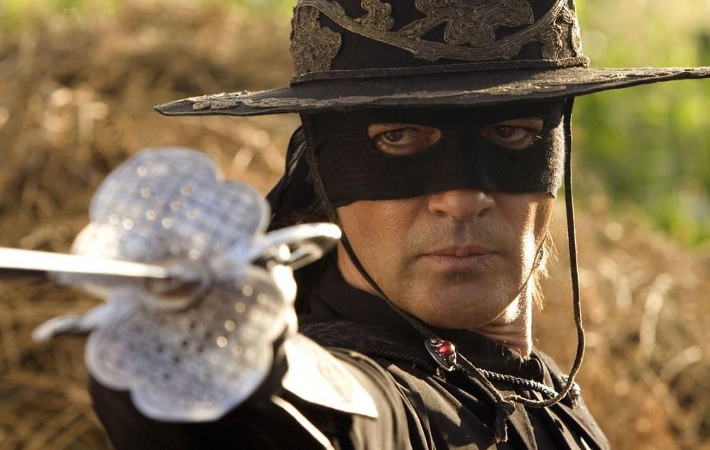 Cena de Zorro em filme