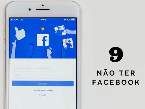 Crônicas: Doze Indícios que Envelheci Antes da Hora - Item 9 - Não Ter Facebook