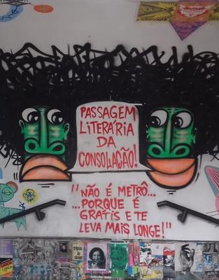 Passeios: Passagem Literária da Consolação – A ótima surpresa paulistana