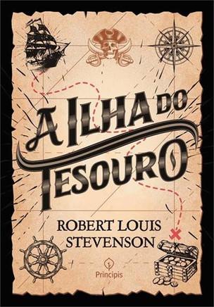 Livros: A Ilha do Tesouro - O clássico infantojuvenil de R. L. Stevenson