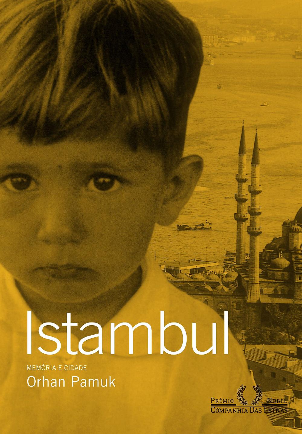Livro Istambul – Memória e Cidade de Orhan Pamuk