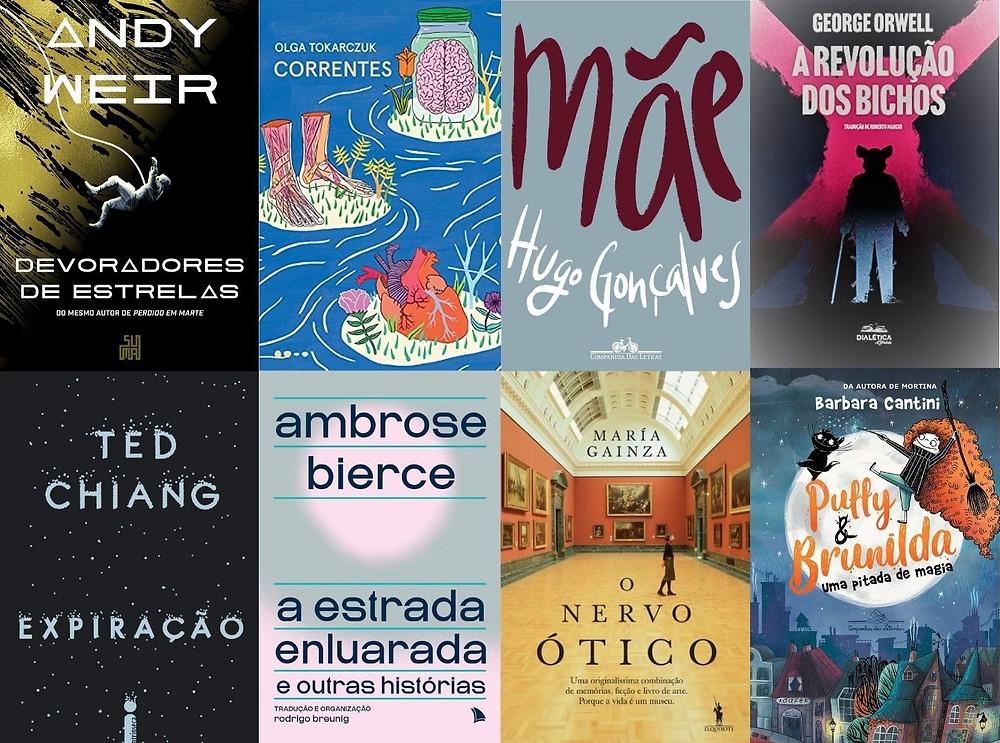 Livros internacionais de ficção e poesia publicados no Brasil em julho e agosto de 2021