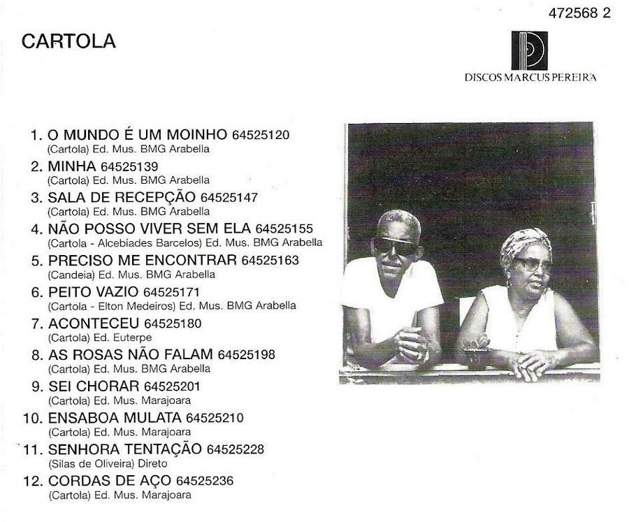 Cartola - Álbum 1976