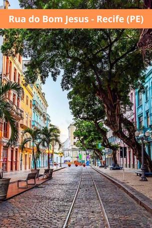 Passeios: Rua do Bom Jesus - A terceira rua mais bonita do mundo
