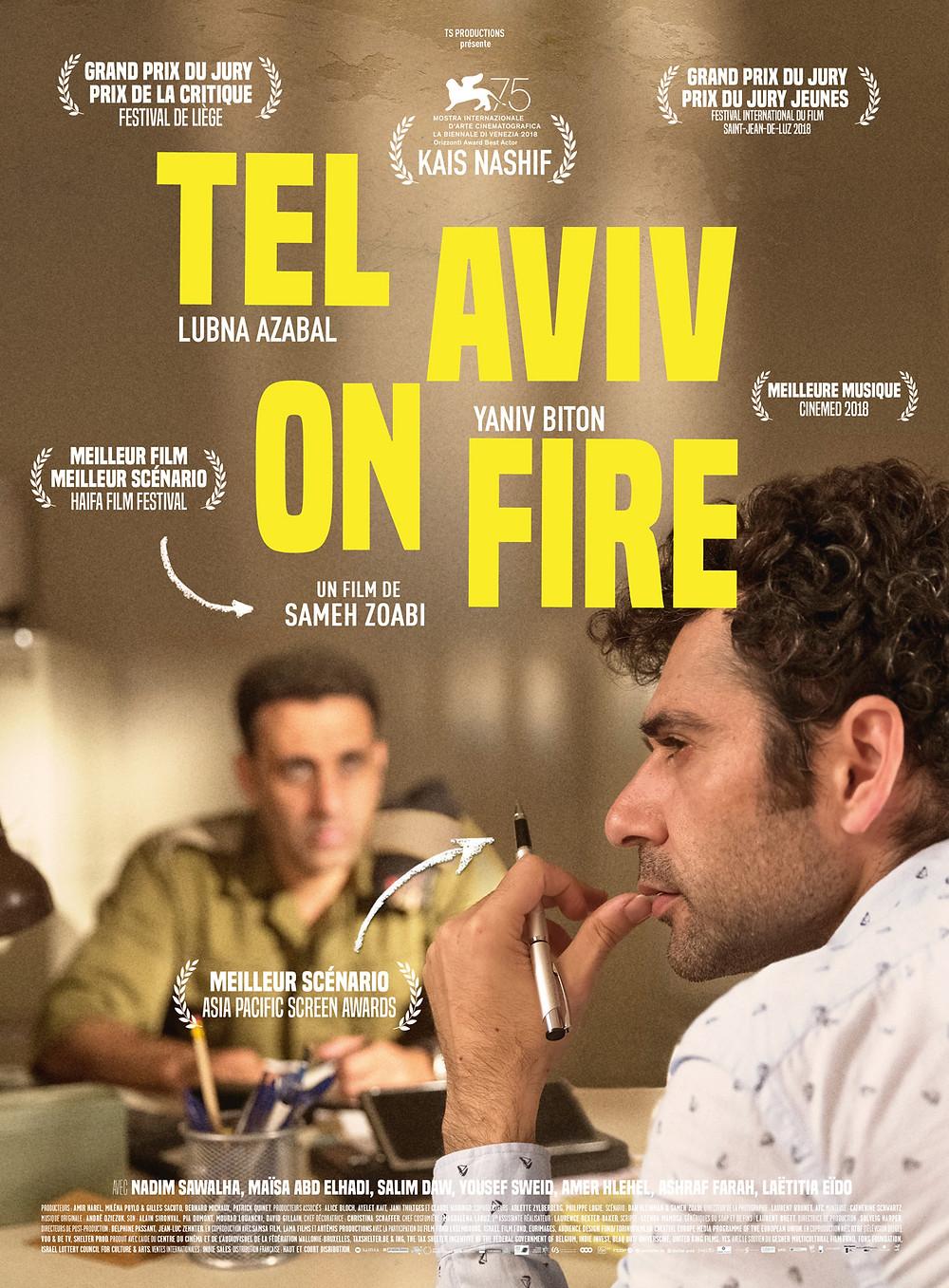 Tel Aviv em Chamas (Tel Aviv On Fire: 2018)