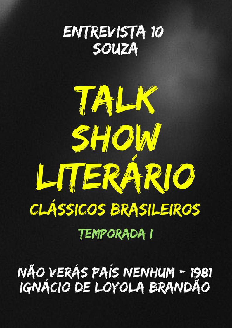 Talk Show Literário Souza