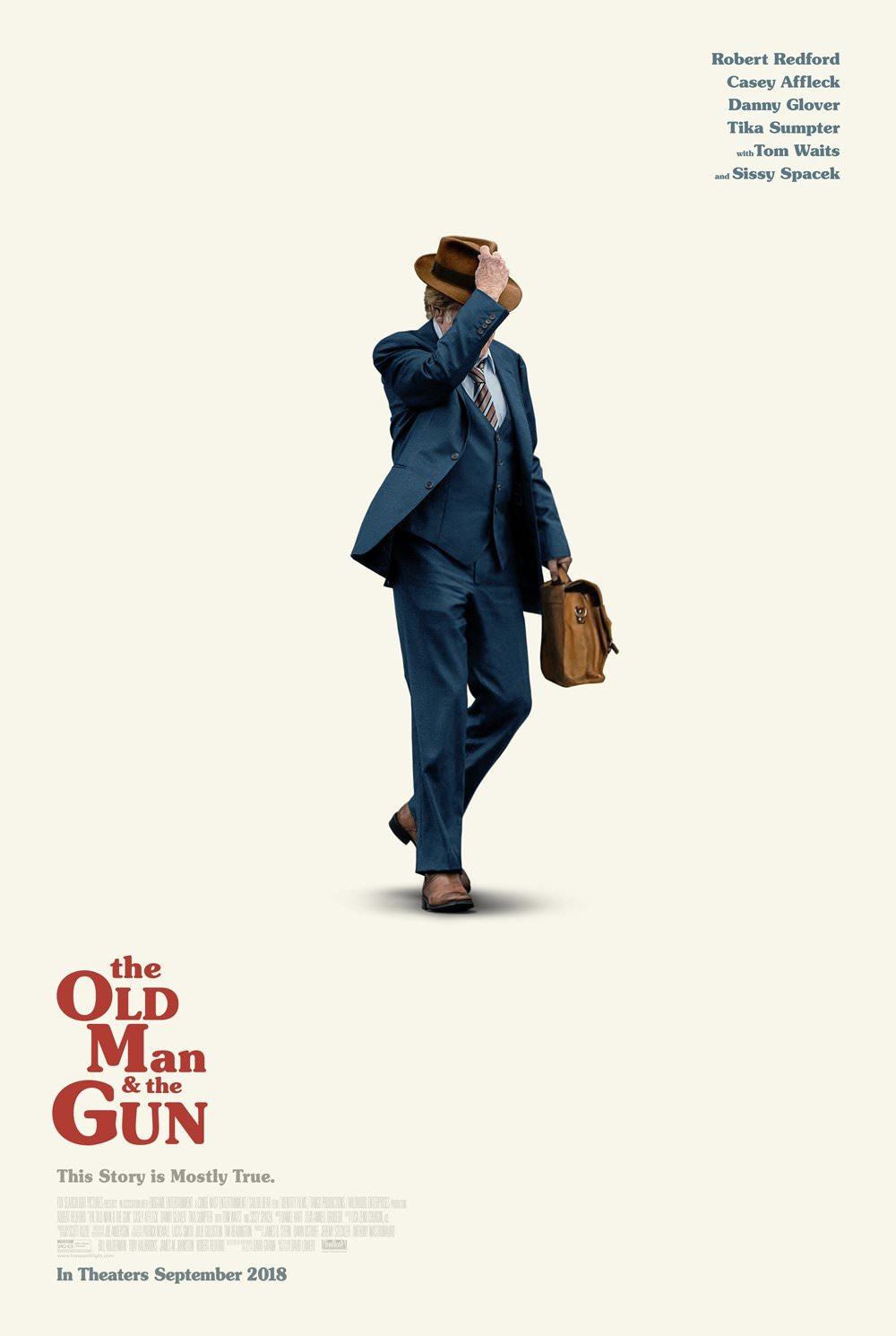 Um Ladrão Com Estilo (The Old Man & The Gun: 2018)