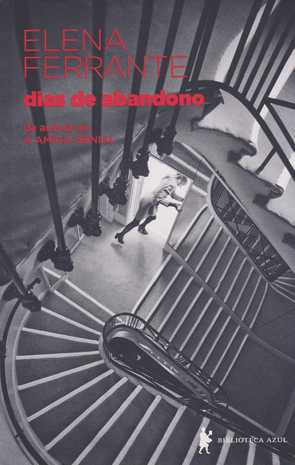 Livro Dias de Abandono de Elena Ferrante