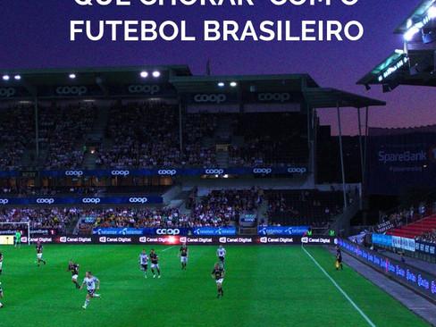 Crônicas: Eu e o Mundo - 10 - É melhor rir do que chorar com o futebol brasileiro