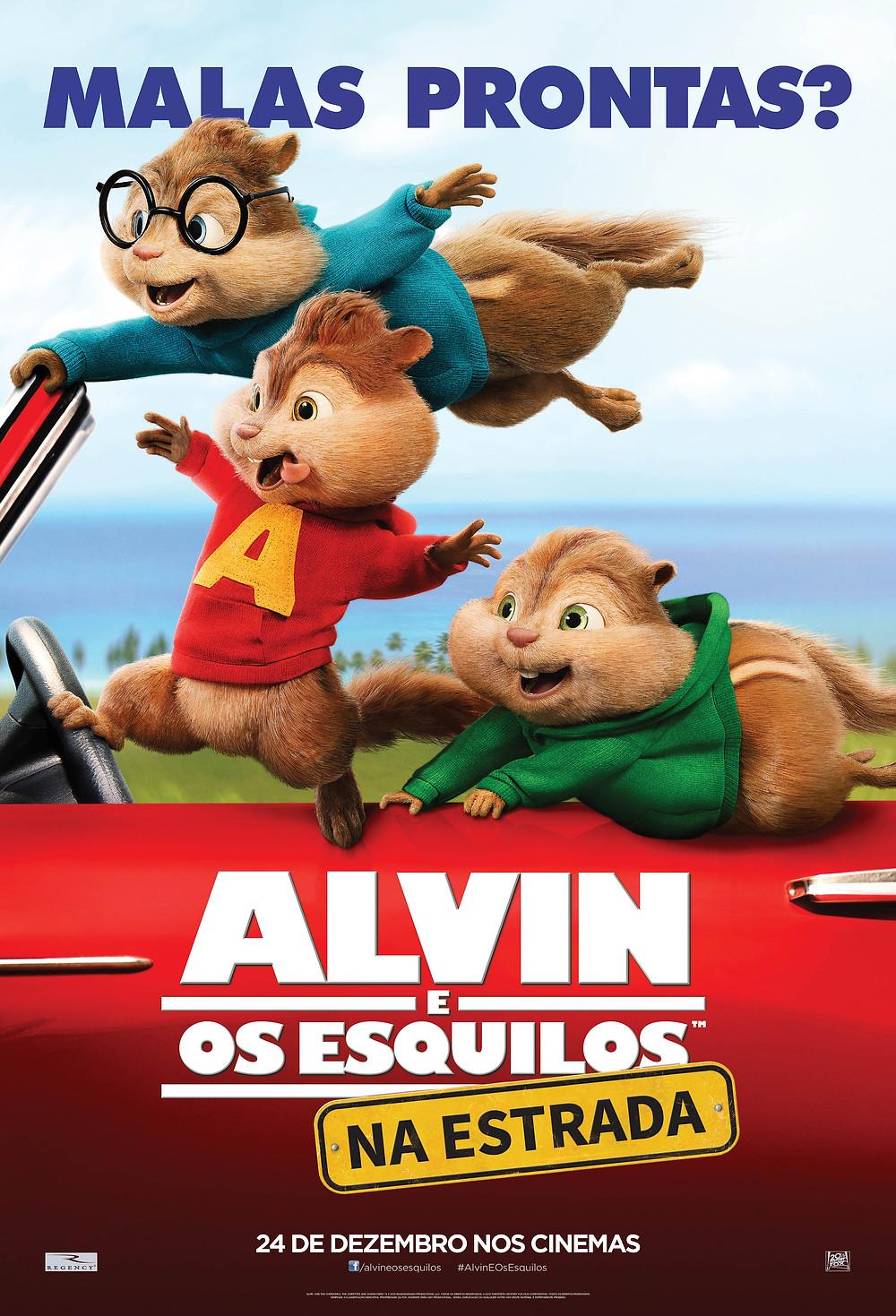 Alvin e os Esquilos na Estrada (Alvin And The Chipmunks - The Road Chip: 2015)