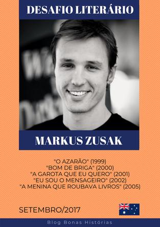 Análise Literária: Markus Zusak