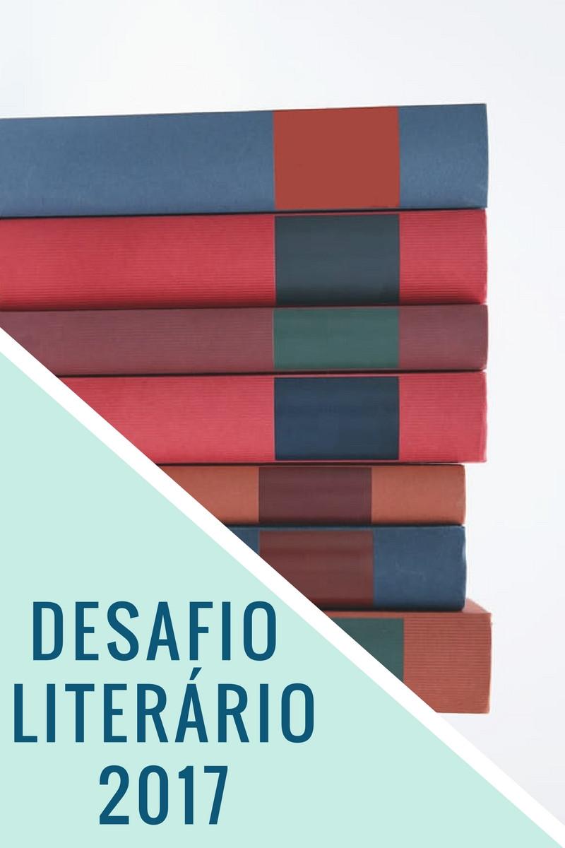 Desafio Literário de 2017 Blog Bonas Histórias