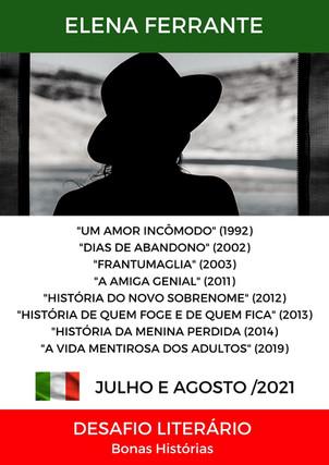 Análise Literária: Elena Ferrante