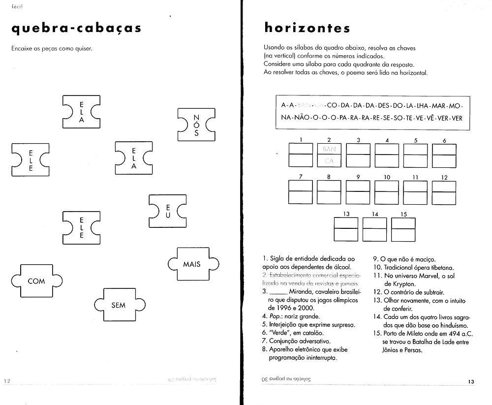 Livro Passatempoemas – Desafios Verbo-lógico-matemáticos de Carolina Zuppo Abed